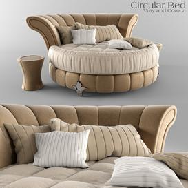Circular Bed Z42 3d model Download  Buy 3dbrute