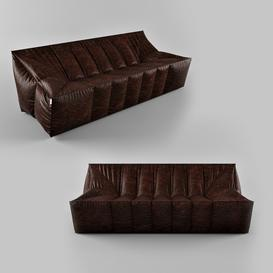 Sofa Z100 3d model Download  Buy 3dbrute
