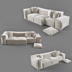 Sofa Z99 3d model Download  Buy 3dbrute