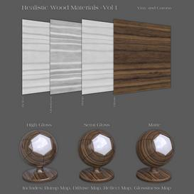 36 Realistic Wood Materials - Vol 1 Z80 3d model Download  Buy 3dbrute