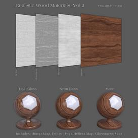 36 Realistic Wood Materials -Vol 2 Z81 3d model Download  Buy 3dbrute