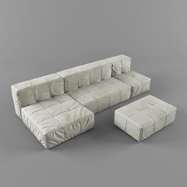 Sofa Z78 3d model Download  Buy 3dbrute