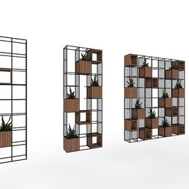 plant shelf Z77 3d model Download  Buy 3dbrute