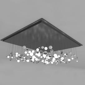 Ceiling Light Z34 3d model Download  Buy 3dbrute