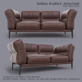 ADDA Italian ArmChair Z65 3d model Download  Buy 3dbrute