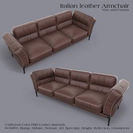 ADDA Italian ArmChair Z66 3d model Download  Buy 3dbrute