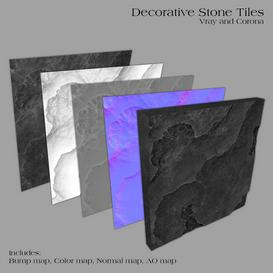 Decorative Stone Tiles -Part A Z51 3d model Download  Buy 3dbrute