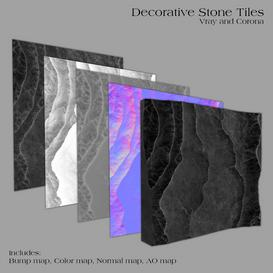 Decorative Stone Tiles -Part B Z52 3d model Download  Buy 3dbrute