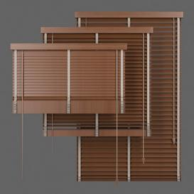 Set Blinds Wooden 1 Z89 3d model Download  Buy 3dbrute