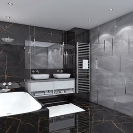 Bathroom Z22 3d model Download  Buy 3dbrute