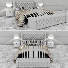 Bed Z27 3d model Download  Buy 3dbrute