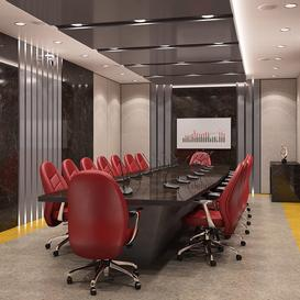 Conference Room 01 Z47 3d model Download  Buy 3dbrute