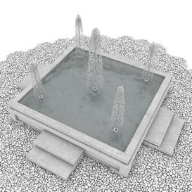 Fountain Z60 3d model Download  Buy 3dbrute