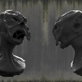 Monster Head Z88 3d model Download  Buy 3dbrute