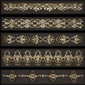 Trim Ornament - 1 Z110 3d model Download  Buy 3dbrute