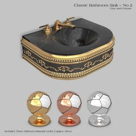 Classic wash basin - No 2 3d model Download  Buy 3dbrute