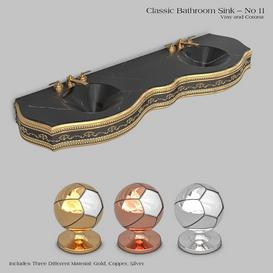 Classic wash basin - No 11 3d model Download  Buy 3dbrute