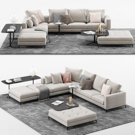 Andersen Sofa MT 01 LT 3d model Download  Buy 3dbrute