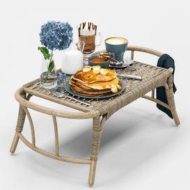 Breakfast 3d model Download  Buy 3dbrute