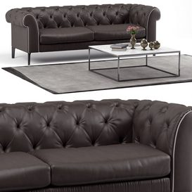 Sofa Natuzzi Orfeo LT 3d model Download  Buy 3dbrute