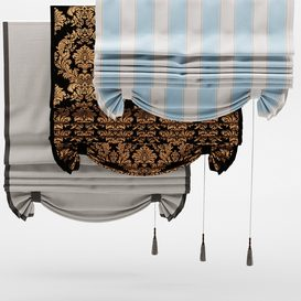 Curtains with pick-up LT 3d model Download  Buy 3dbrute