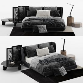 creed bed MT 02 LT 3d model Download  Buy 3dbrute
