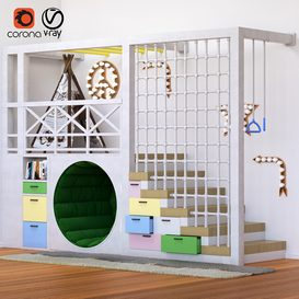 KidsRoom 3d model Download  Buy 3dbrute