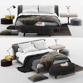 Spencer bed mt 01 LT 3d model Download  Buy 3dbrute