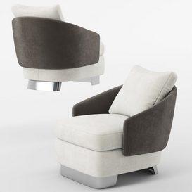 Lawson Medium Armchair mt 01 LT 3d model Download  Buy 3dbrute