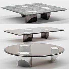Wedge coffee table mt 01 LT 3d model Download  Buy 3dbrute