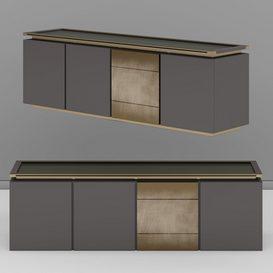 M-05 Sideboard modern 3d model Download  Buy 3dbrute