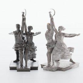 M-07 Sculpture 3d model Download  Buy 3dbrute