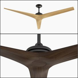M-09   Ceiling Fan 3d model Download  Buy 3dbrute