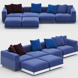 ASAMI - Sofa 3d model Download  Buy 3dbrute
