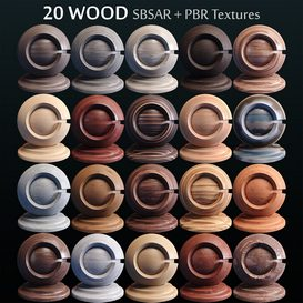 20 MDF Wood Generator PBR SBSAR 3d model Download  Buy 3dbrute