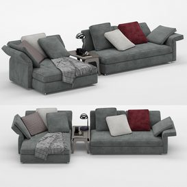 Collar sofa MT 01 LT 3d model Download  Buy 3dbrute