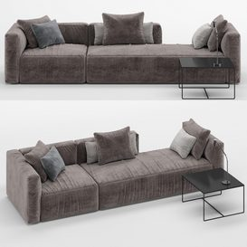 DONOVAN SOFA MT 01 LT 3d model Download  Buy 3dbrute