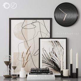 Decorative set 3d model Download  Buy 3dbrute