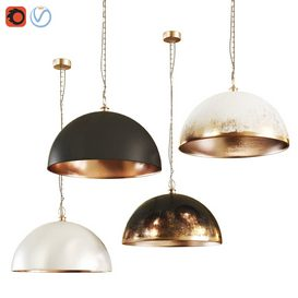 Dome Pendant Light 3d model Download  Buy 3dbrute