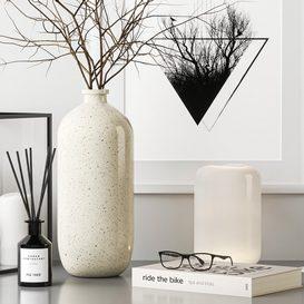 Decorative set 1c 3d model Download  Buy 3dbrute