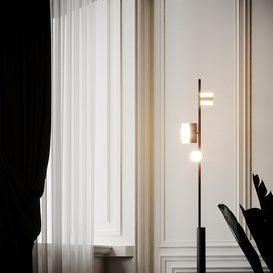 Studio Truly Truly X Rakumba - Typography Lighting System and Floor Lamp 3d model Download  Buy 3dbrute