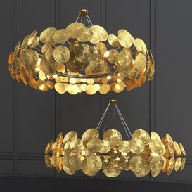 Newton Chandelier 3d model Download  Buy 3dbrute