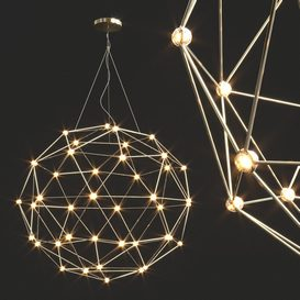 Hedron LED Pendant Light 3d model Download  Buy 3dbrute