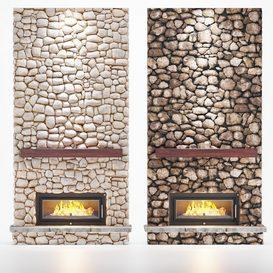 M-22 Fireplace 3d model Download  Buy 3dbrute