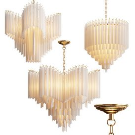 Eichholtz Chandelier Collection - 3 type 3d model Download  Buy 3dbrute