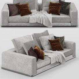 M-16  Sofa 3d model Download  Buy 3dbrute