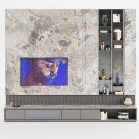 M-26  Tv Wall 3d model Download  Buy 3dbrute