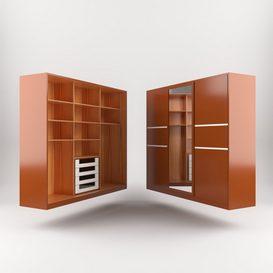 bedroom cupbord 3d model Download  Buy 3dbrute