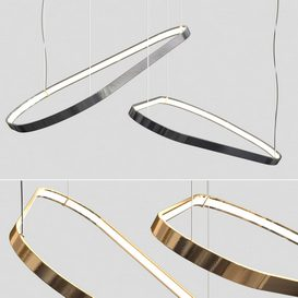 Magellano Suspension Ring Light 3d model Download  Buy 3dbrute