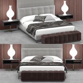 B1 Bed  02 3d model Download  Buy 3dbrute